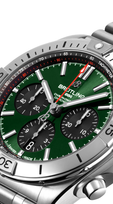 BREITLING comes with new CHRONOMAT