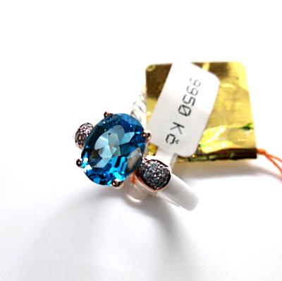 Topas, diamanty a keramika