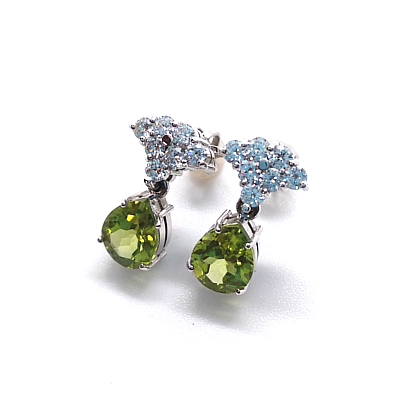 olivine and diamonds