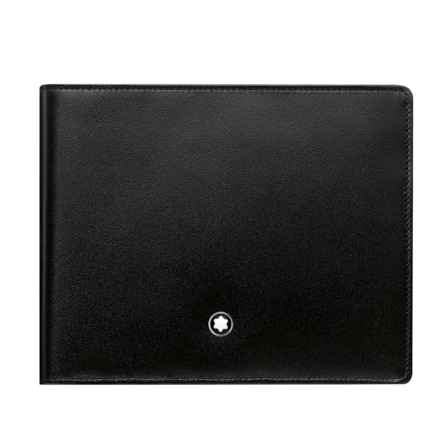 Montblanc černá kožená peněženka