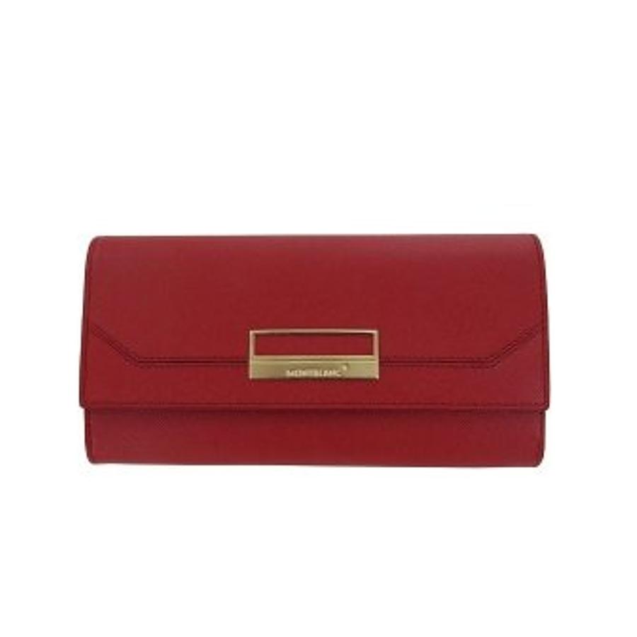 Montblanc dámská červená peněženka