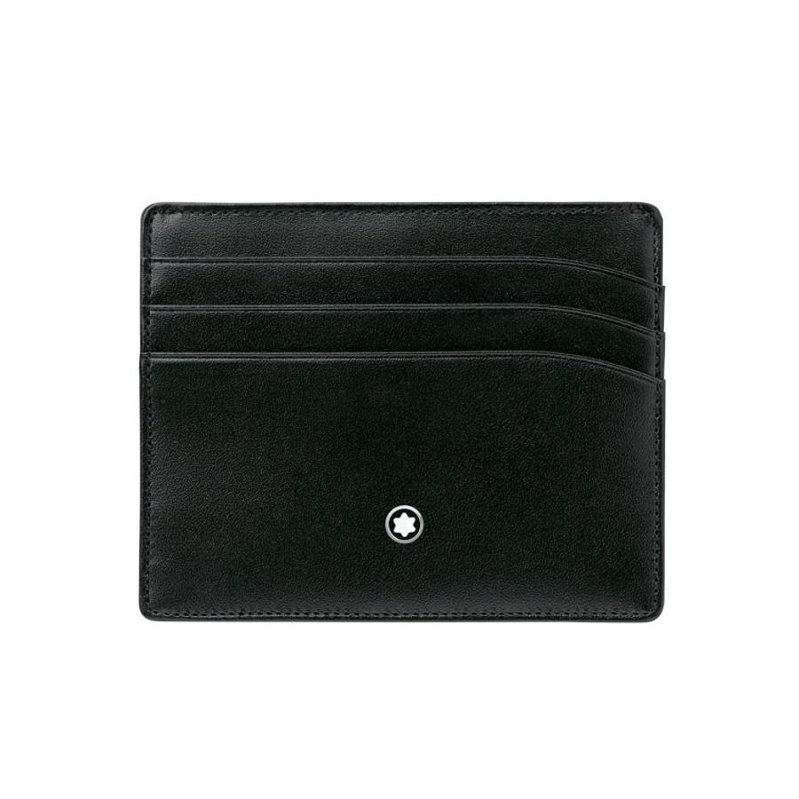 Montblanc kožené pouzdro na kreditní karty