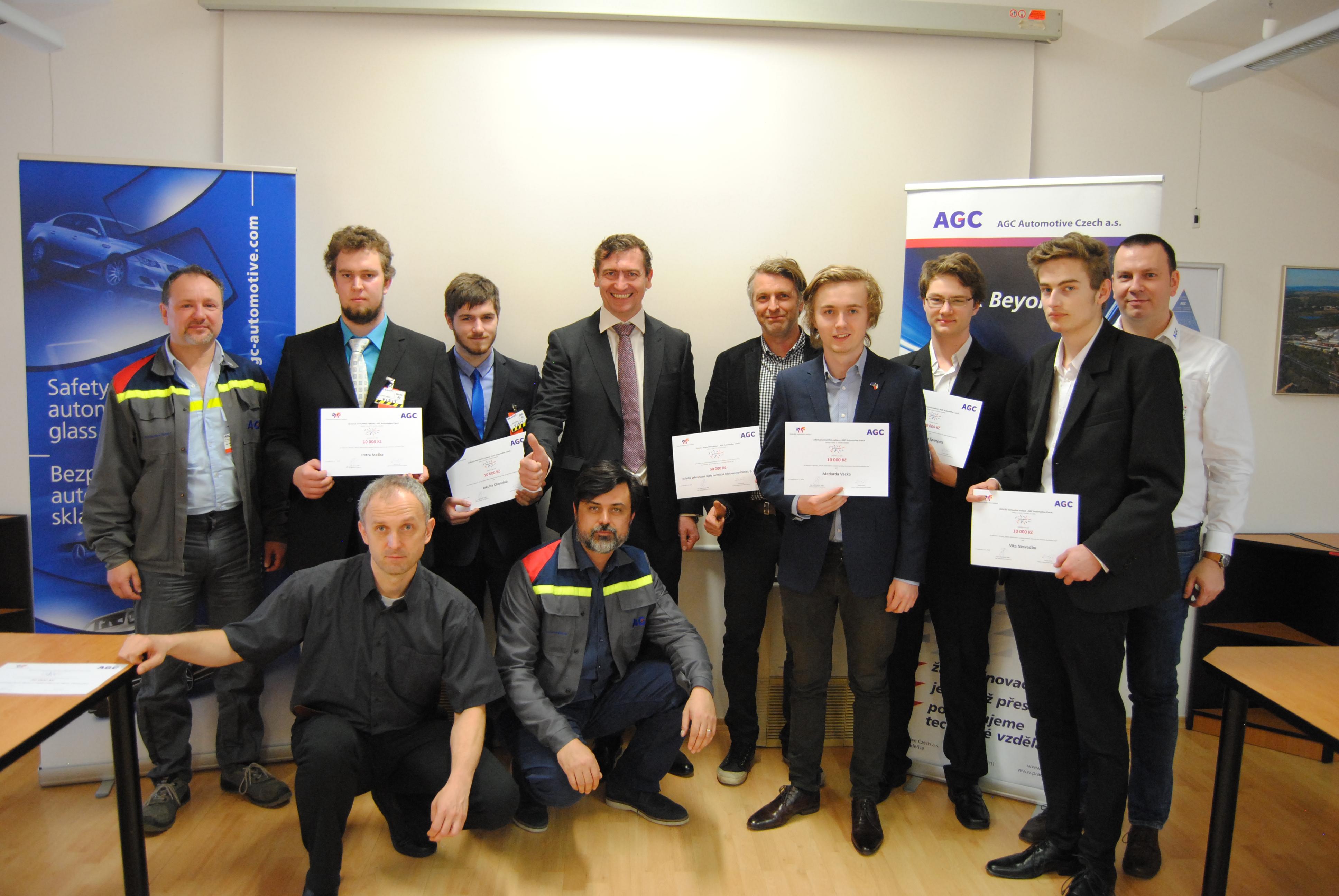 AGC Automotive vyhlásil Technowizz, podpoří studenty techniky