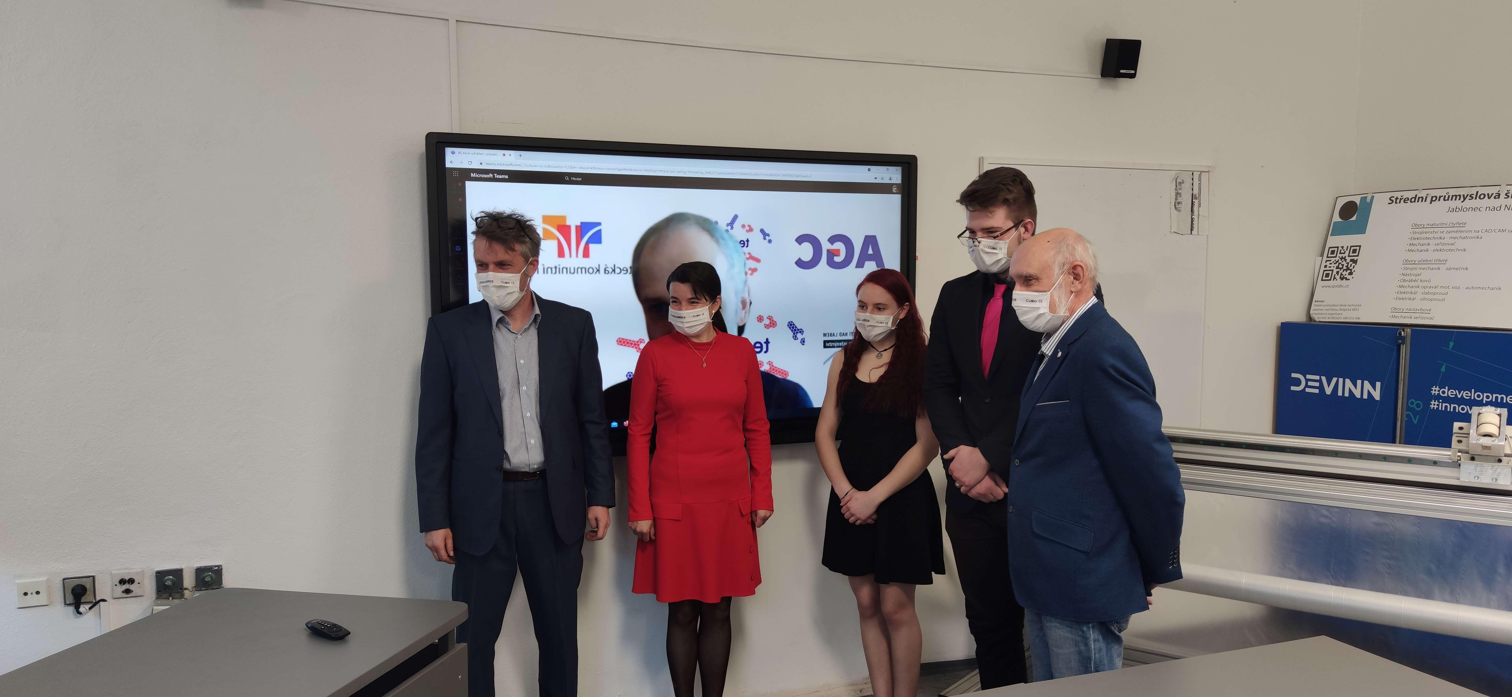 Vítězství v soutěži Technowizz putuje ke studentům z Jablonce