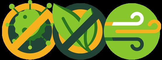 Čistý vzduch bez virů, patogenů, prachu a alergenů