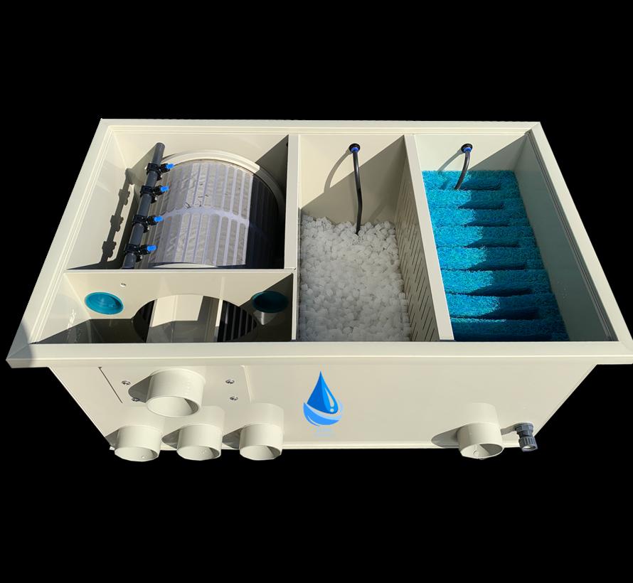 Koistahl bubnový filtr  Biodrum 20 s biologií a japonskou rohoží