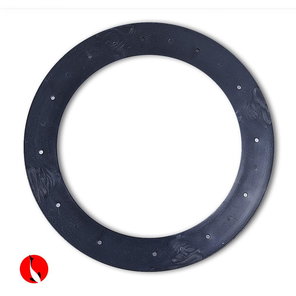 Kroužek na podlahu z náhradního dílu ABS 110 mm