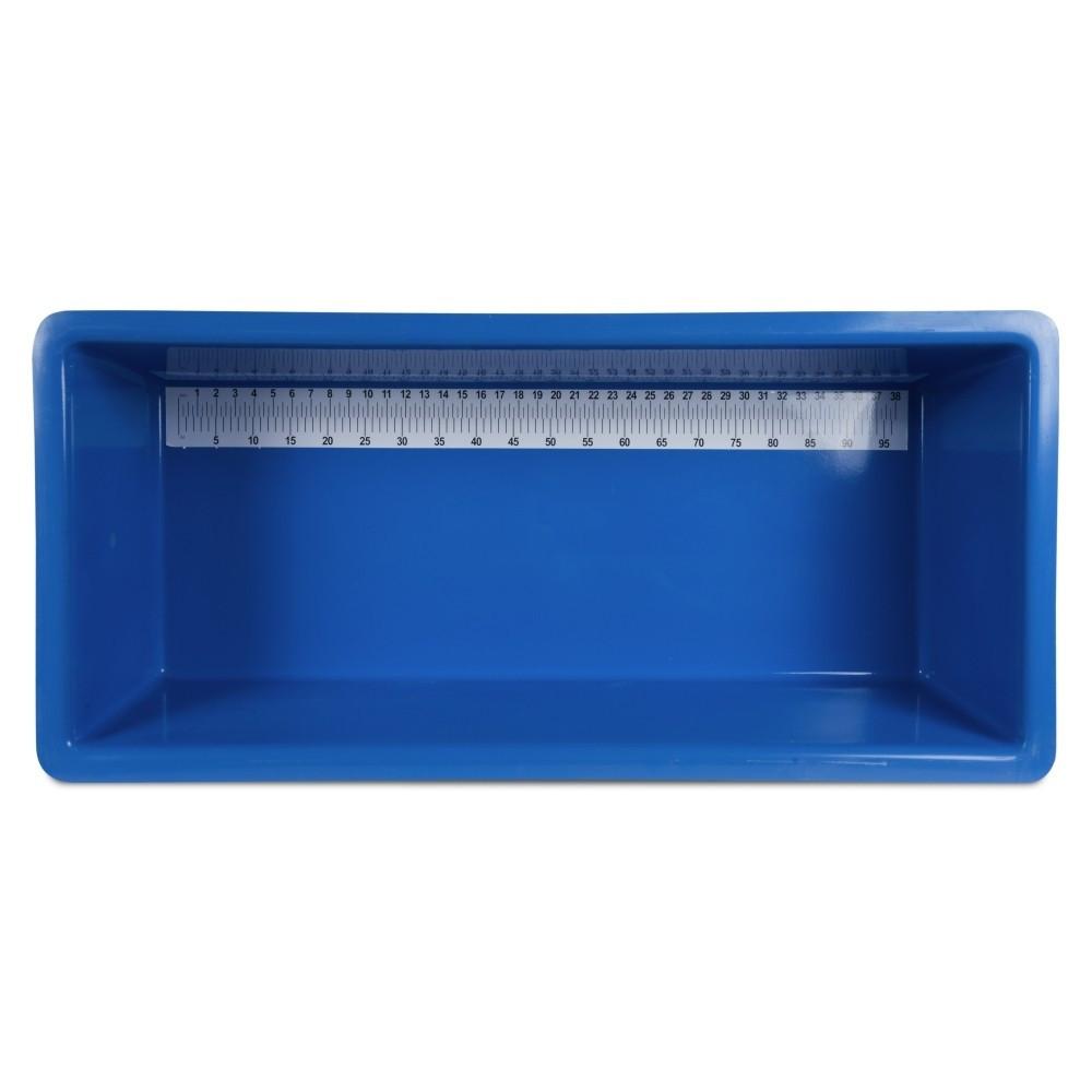 Měřící vana Koi 100 cm z GRP, modrá
