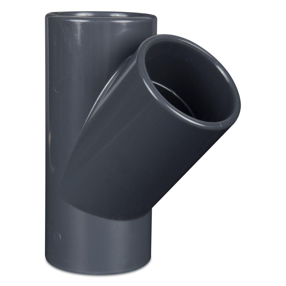PVC  T-kus 45° 110mm