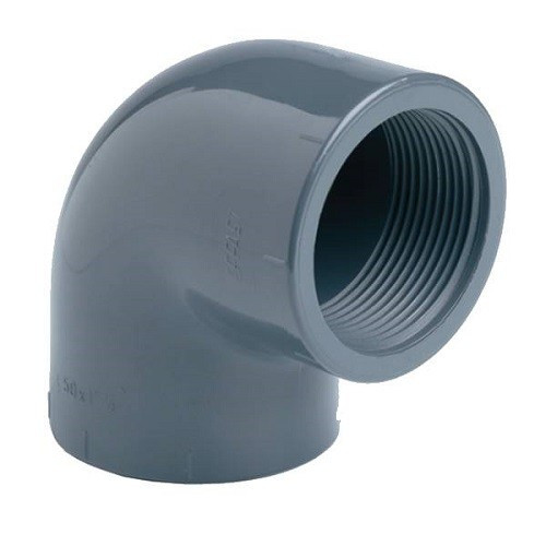 PVC Koleno 90 ° 75mm x 2 1/2