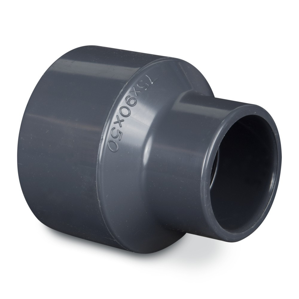 PVC redukce75/90x50