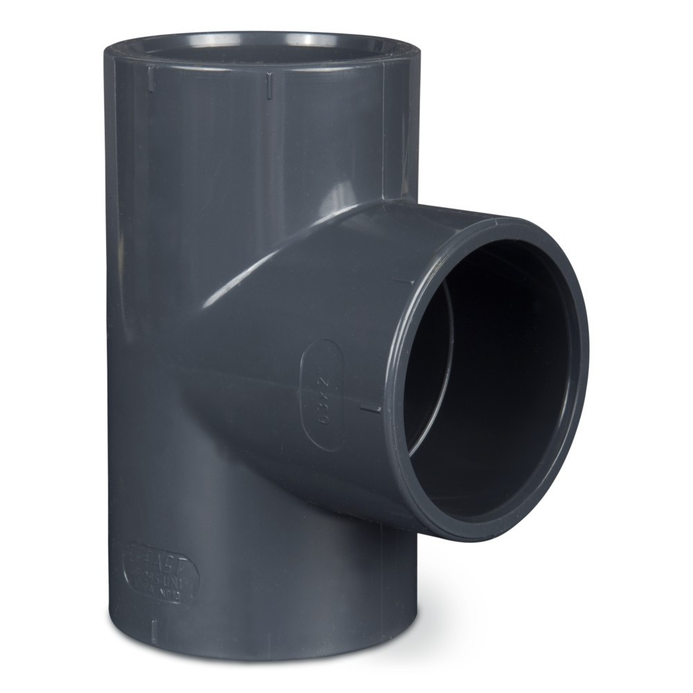 PVC T-kus  90° 50mm
