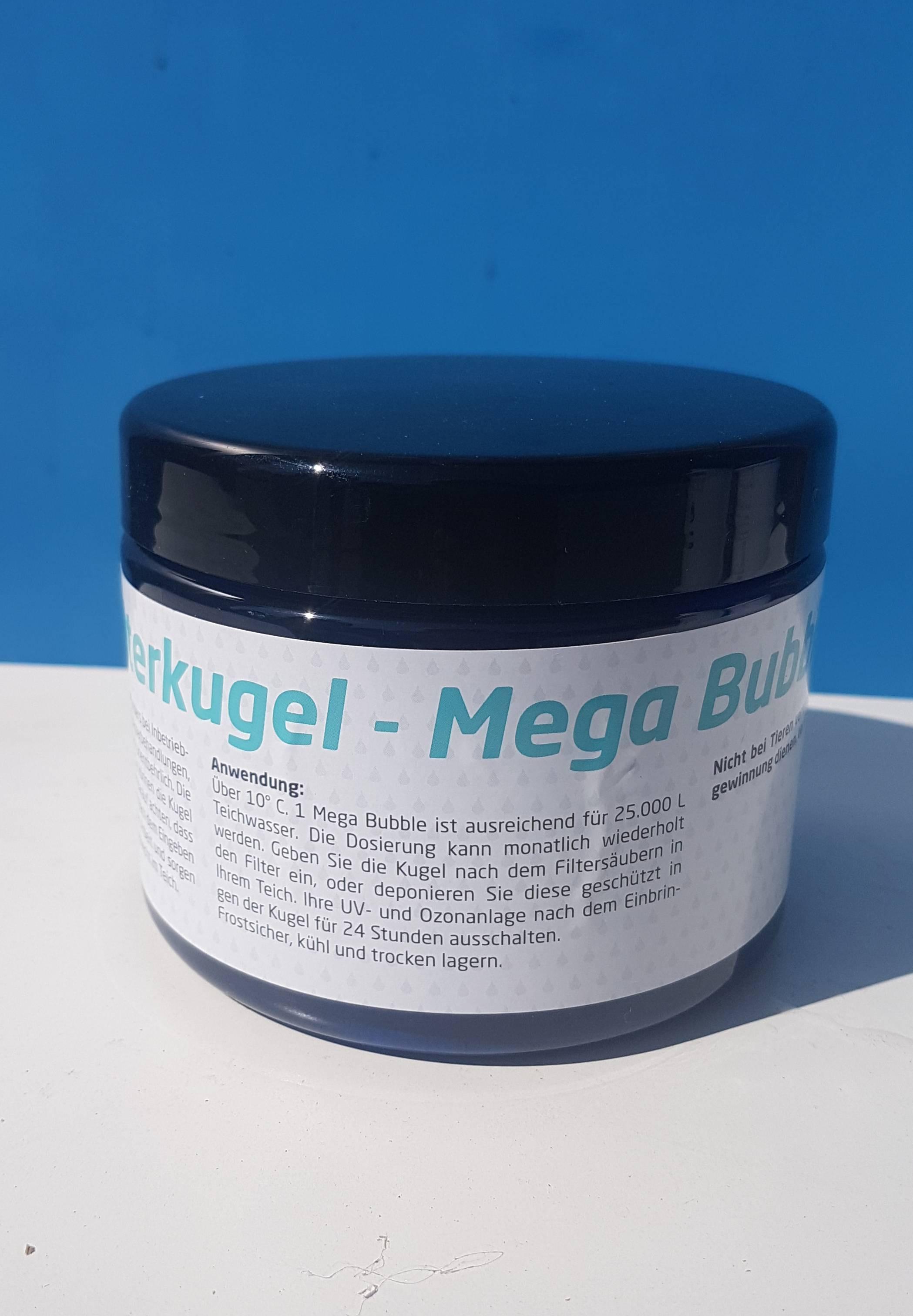 Mega bubble filtrační koule