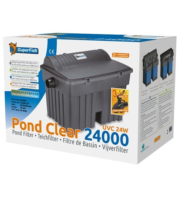 SuperFish Pond Clear 24000 - UVC 24W  3v 1