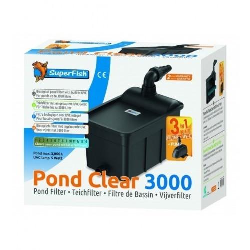 SuperFish Pond Clear Kit 3000 - UVC-5W - 3v1