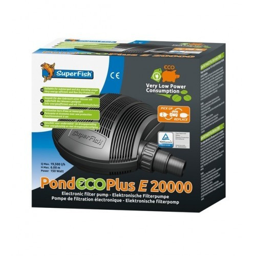 SuperFish Pond ECO Plus E 20000 - 150W
