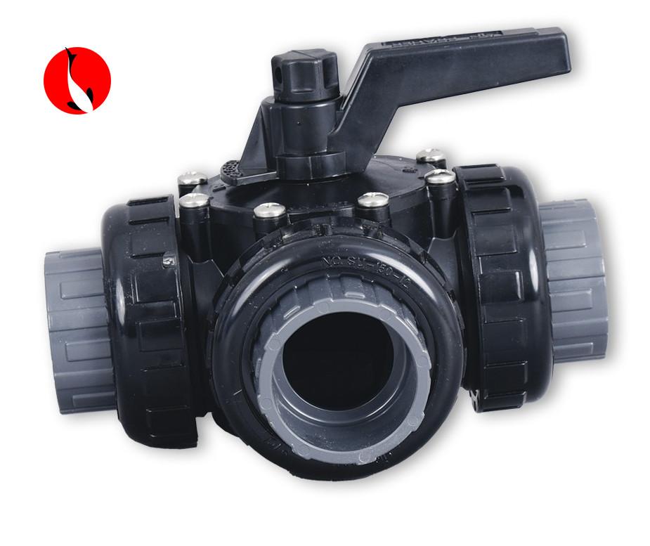 Třícestný kulový ventil 50