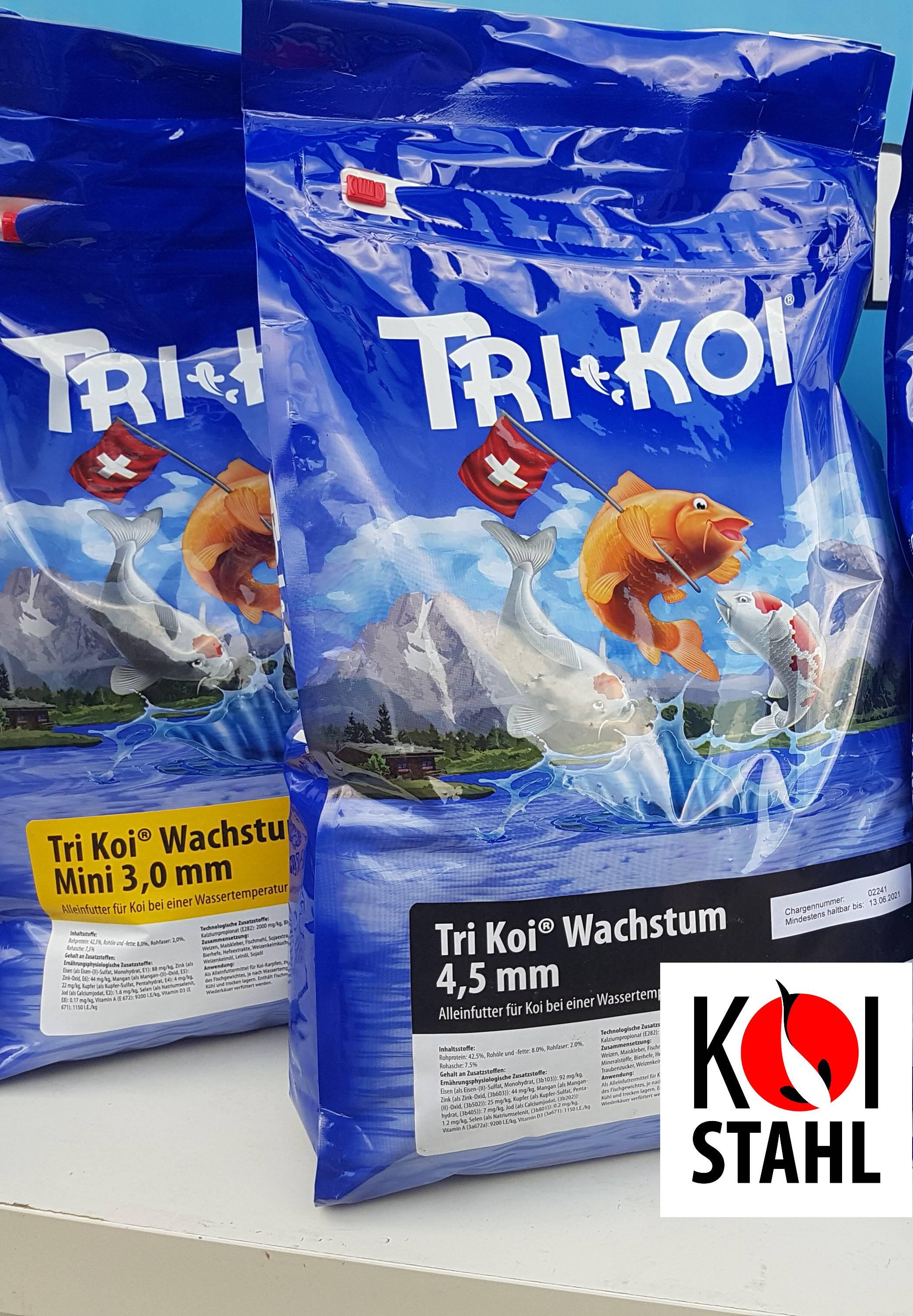 TriKoi  wachstum 3 mm/5kg