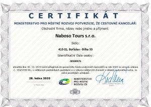 Nabosotours s.r.o. - fond